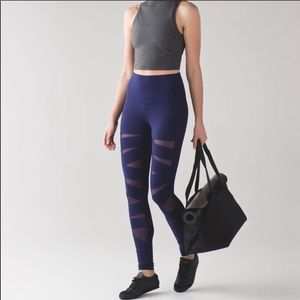 Lululemon high rise tech mesh size 2